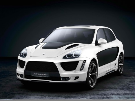GEMBALLA unleashed TORNADO from Porsche Cayenne 958