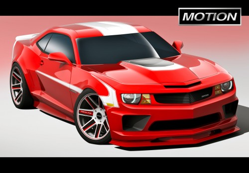 2011 Chevrolet Motion Camaro