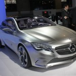 Mercedes-Benz Concept A at the 2011 New York Auto Show
