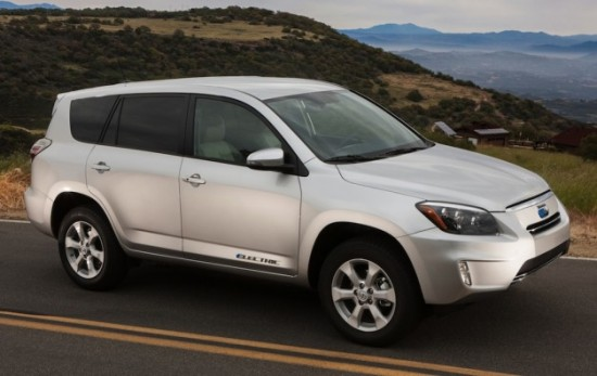 Toyota RAV4 EV can travel 113 miles between charges